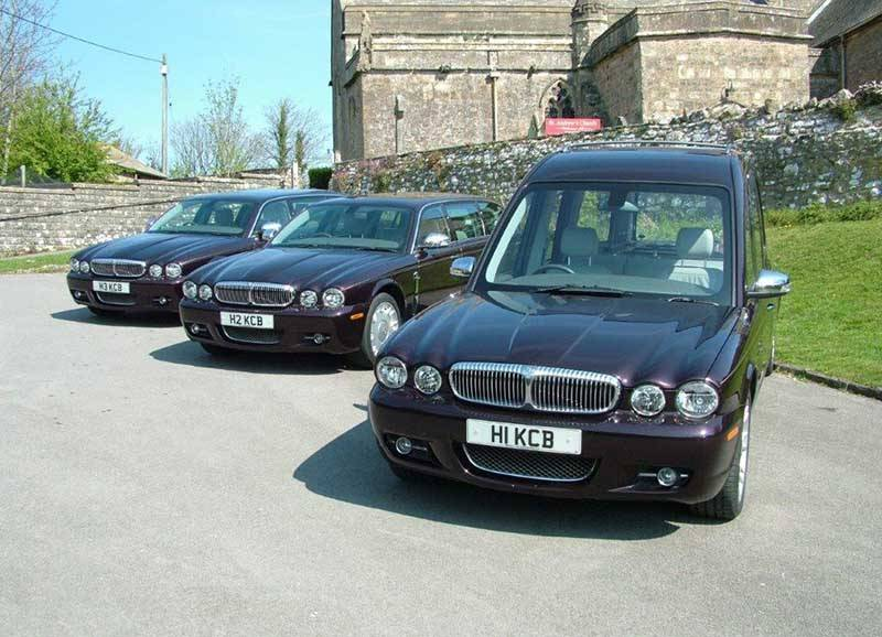 two limos and a hearse